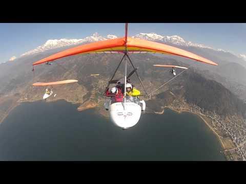 Flight in Nepal,