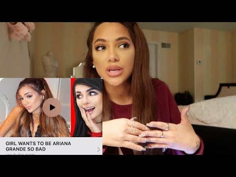 "MY RESPONSE  to sssniperwolf&39;s  about me + other ""ariana wannabes"""