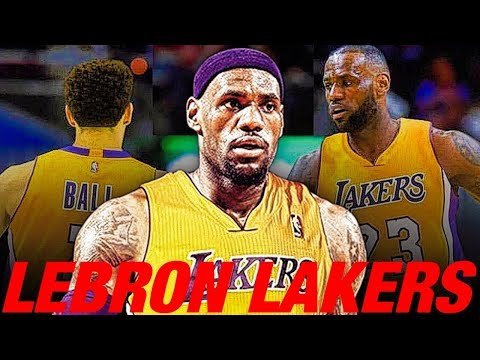 """""""WHAT IF"""" LEBRON JAMES SIGNS WITH THE LOS ANGELES LAKERS?!?! LAKERS REBUILD!! NBA 2K18 MY LEAGUE"""