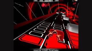 Hardest Song On Audiosurf? DJ SynthR - The Last Prophecy - Ninja Mono [Extreme Reflexes]