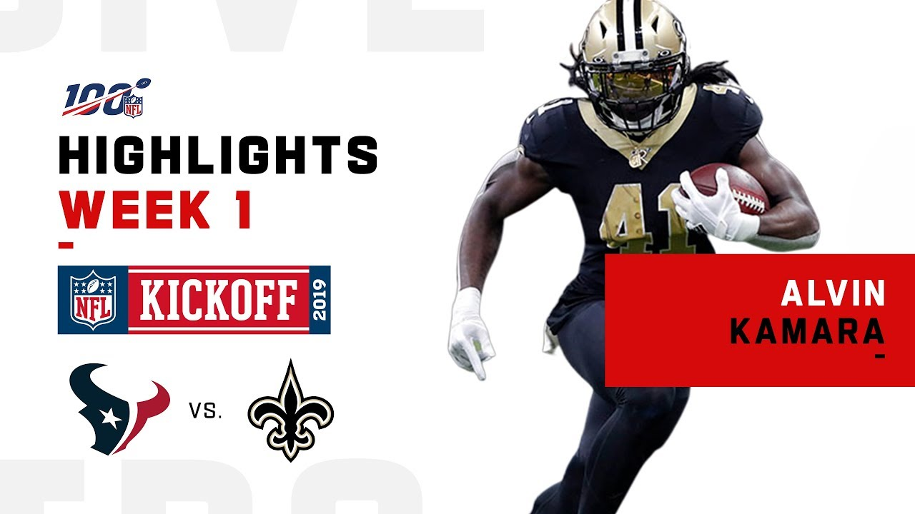 new arrival 29a16 97d1f Alvin Kamara Finishes Strong w/ 169-Yd Night! | NFL 2019 Highlights