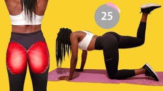 BUTT WORKOUT - No Equipment Home Workout