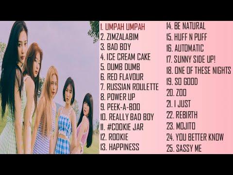 Red Velvet Best Songs Playlist