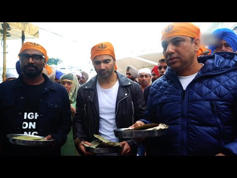 Varun Dhawan, team 'ABCD 3', visit Golden Temple in Amritsar before shoot