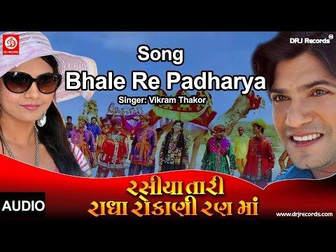 Bhale Re Padharya   Audio Song   Rasiya Tari Radha Rokani Ranma   Vikram Thakor