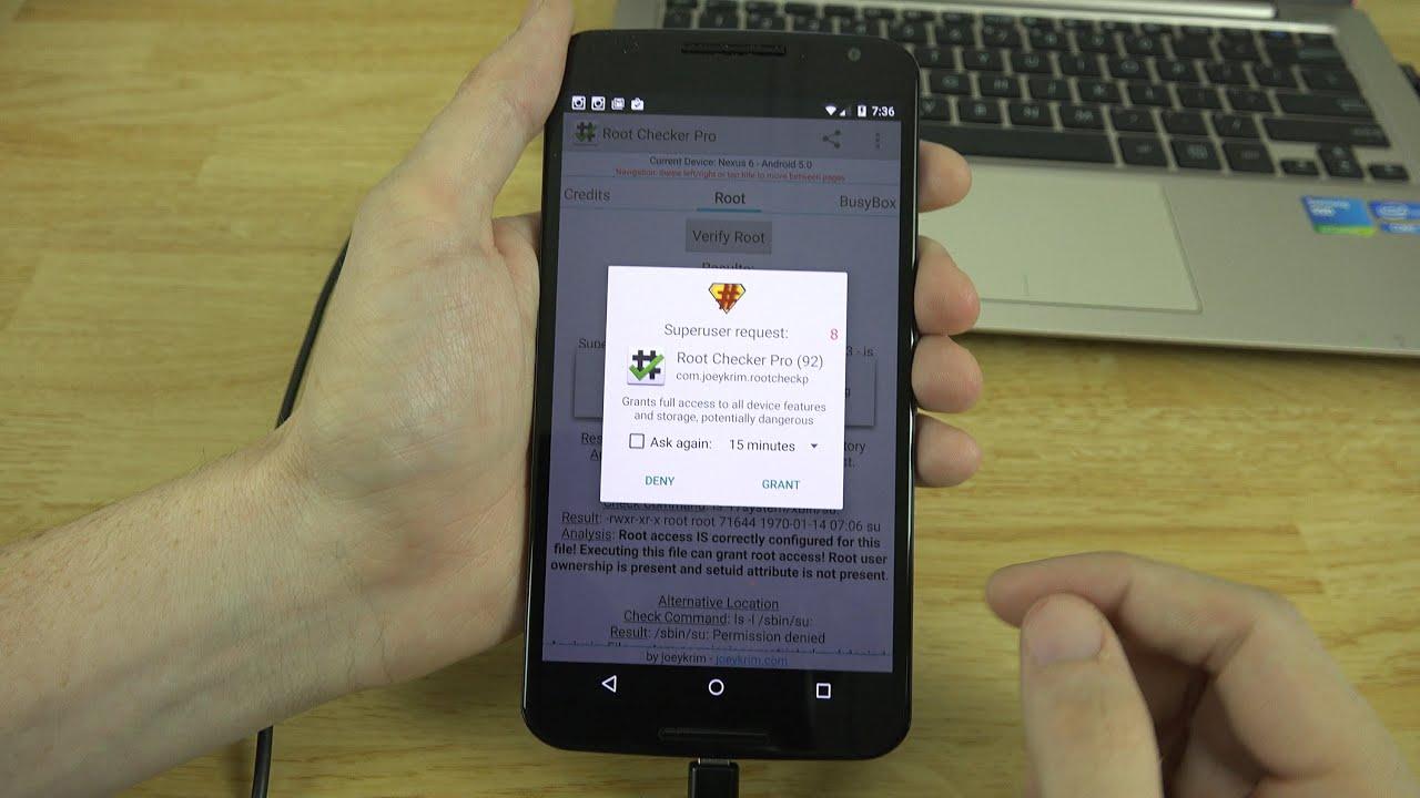 The EASIEST WAY to Root the Motorola Google Nexus 6!