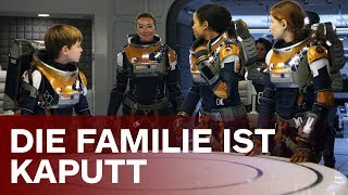Warum Familie Robinson so kaputt ist | Lost in Space Molly Parker & Toby Stephens