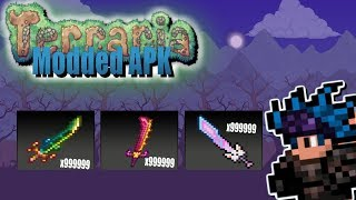 Terraria Android Modded APK Fully Working 2017 | God Mode, All Items Map, Free Craft And More!