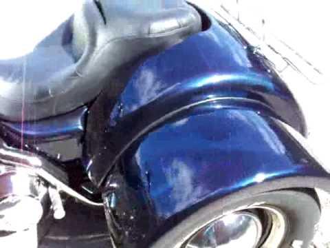 Roadking Trike Conversion Body Kit /w Luggage rack, Key lock, and custom  rear lights