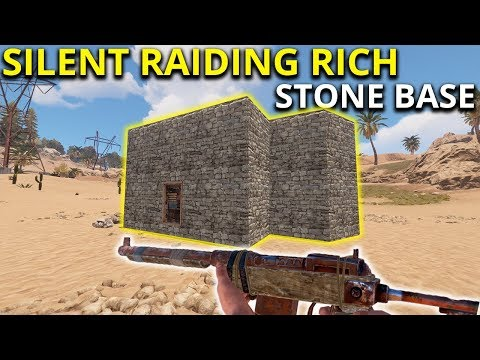 SILENT RAIDING MY STONE RICH NEIGHBOUR! - Rust Solo Survival Gameplay thumbnail