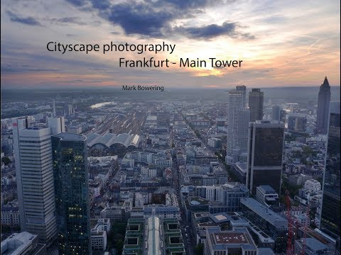 Photography in Frankfurt - Main Tower