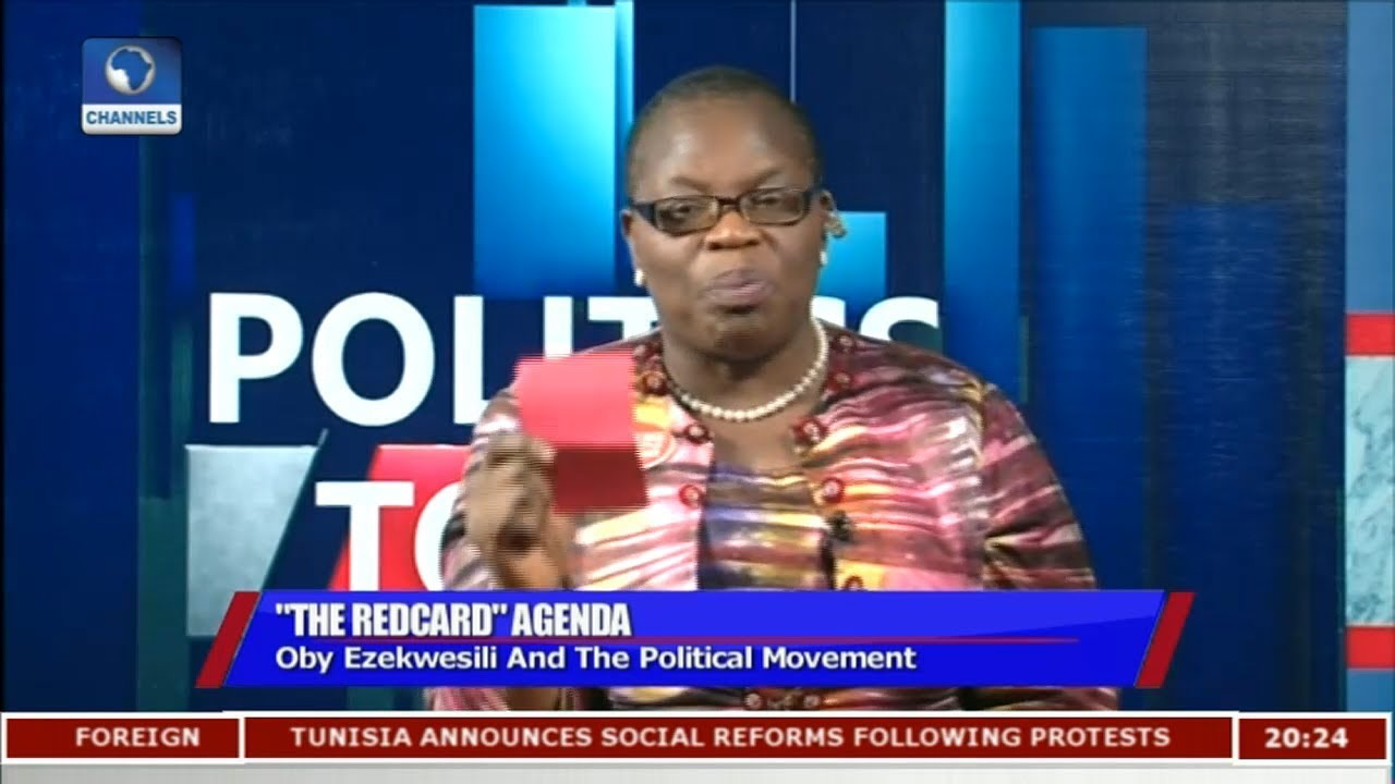 Oby Ezekwesili Calls For Dismantling Of Nigeria's Dominant Political Class