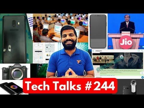 Tech Talks #244 - Jio STOP?, Nokia 8, Samsung C10, Whatsapp Video, TATA Bus, Micromax Canvas 1