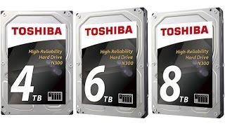 Обзор винчестера Toshiba N300 из нового семейства для NAS