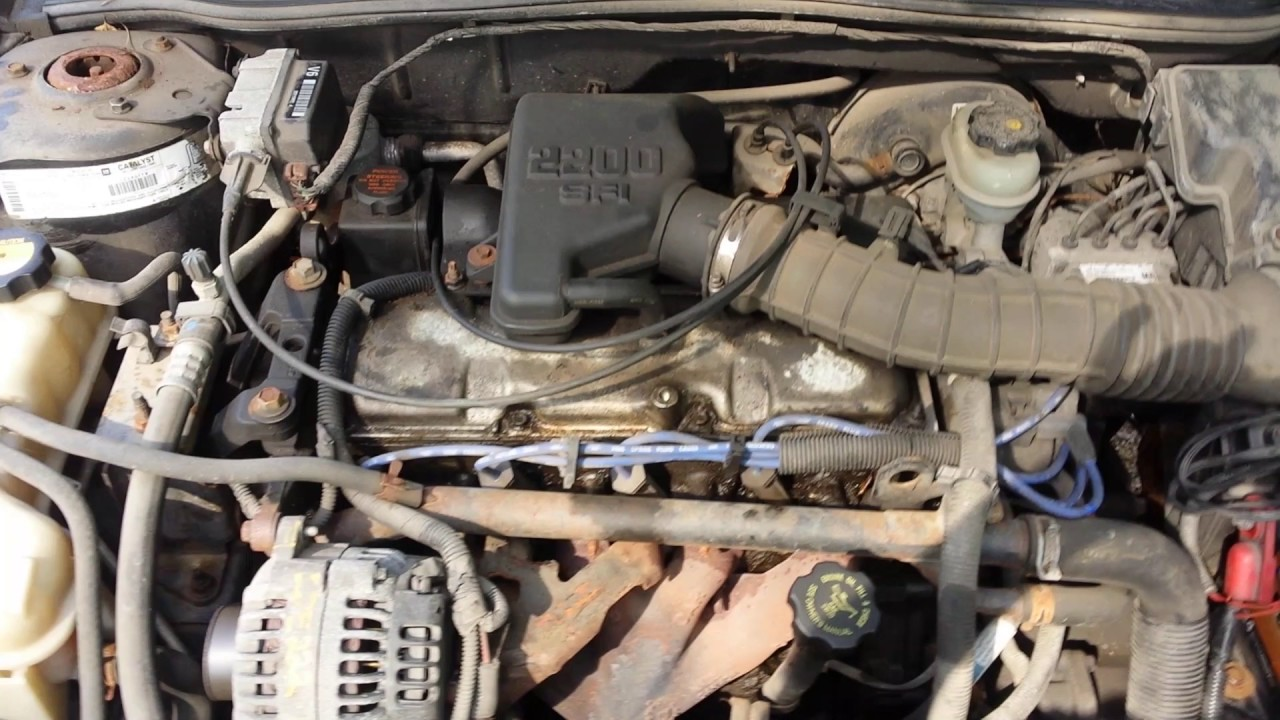 Cavalier 2001 chevy cavalier battery : The 2001 Cavalier - YouTube
