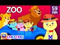 Three Little Kittens Went To The Zoo ? Wild Animals Sounds Nursery Rhymes by Cutians? | ChuChu TV