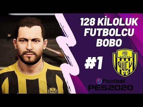 128 Kiloluk Futbolcu Olur Mu? (Olmadı!) | PES 2020 EFSANE OL S1E1