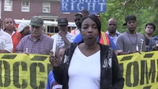 Jacqueline Barber: OOHA Candlelight Vigil against Ocwen