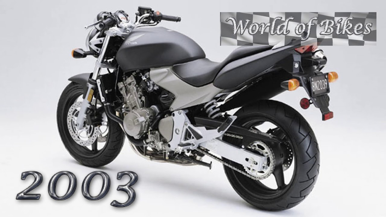 Hornet 600 Evolution Youtube