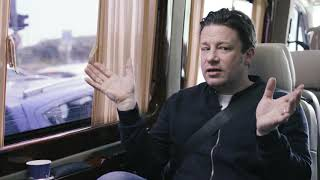 Jamie Oliver gets a taste of Tel Aviv's breakfast