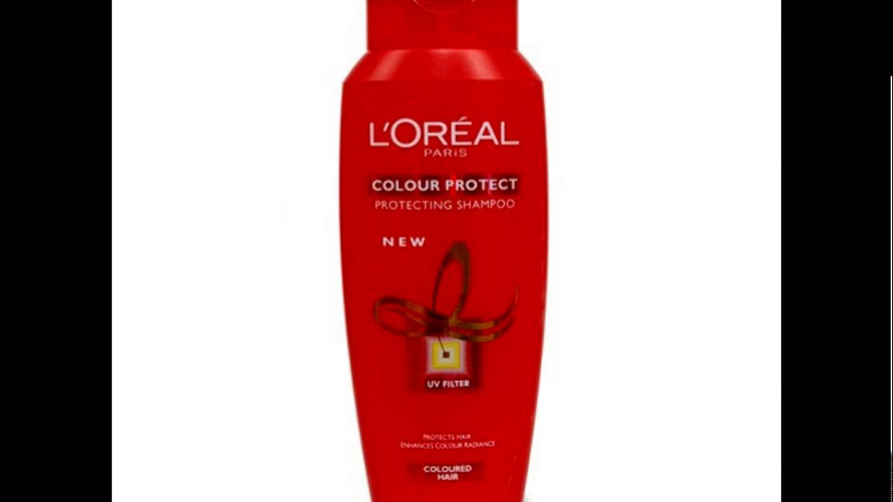 Loreal Color Protect Protecting Shampoo Youtube