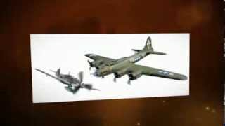 Boeing B17F Flying Fortress And Messerschmitt BF109G  (1943) Corgi AA39915 - 1:72