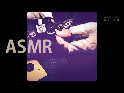[ASMR] Fast CLEANING Vintage Film Camera - NO TALKING