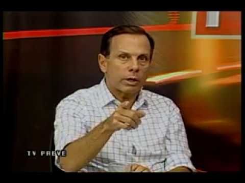 Pré-Candidato ao Governo de São Paulo, João Dória