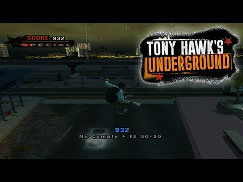 Let's Play Tony Hawk's Underground: Part 5 - Manhattan [Chapter 5]