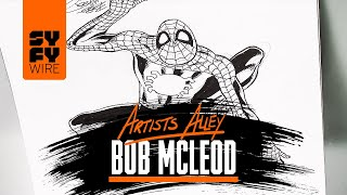 Spider-Man Sketched By Bob McLeod (Artists Alley) | SYFY WIRE