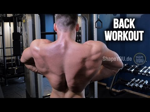 Ross Dickerson's ROSSCUT - Back Workout Day 4