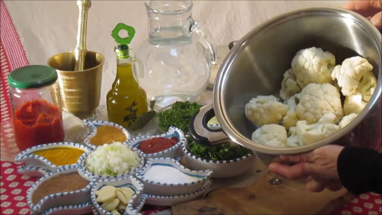 Chakchouka au chou fleur recette tunisienne - Youtube cuisine tunisienne ...