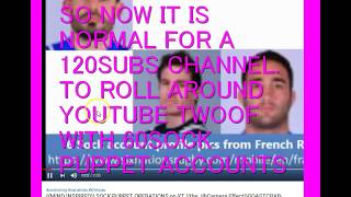 ((MIND EXPIRED))& THE 60 CICADA3301 TROLL ACCOUNTS THAT FOLLOW HER 120SUBS CHANNEL