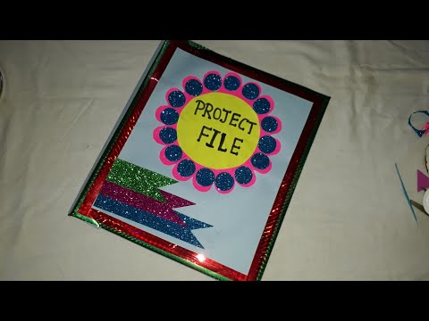 Project file cover decoration/Project file decoration/