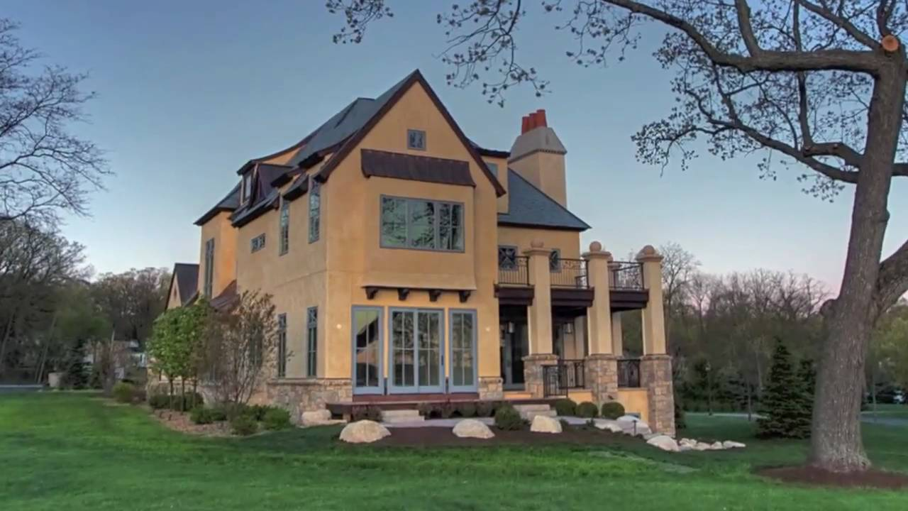 Luxury Lakefront Home Lake Geneva Wi Youtube