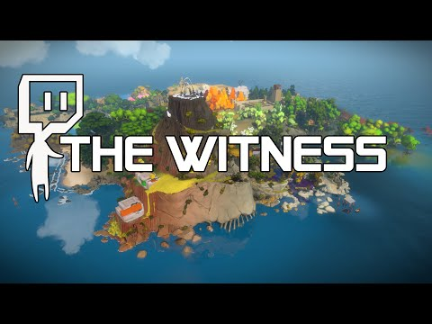 The Witness - Part 1 -  Puzzle Memory - Let's Play - The Witness Gameplay [Livestream]