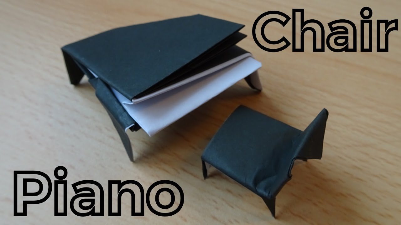 How to make a Paper Grand Piano | Origami Piano - YouTube