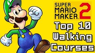 Super Mario Maker 2 Top 10 WALKING Courses (Switch)