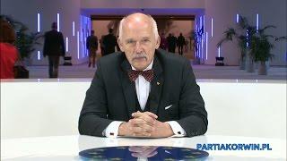 Janusz Korwin-Mikke o historii Unii Europejskiej 06.01.2016