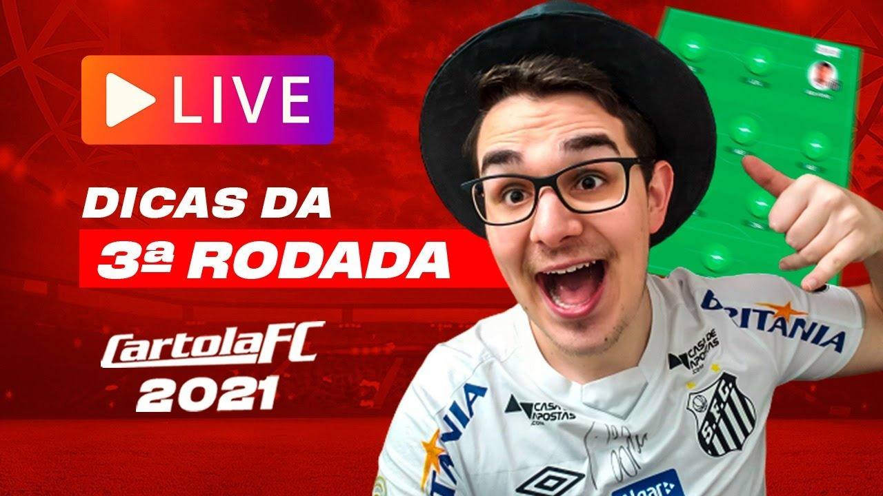 Download LIVE DICAS #3 RODADA | CARTOLA FC 2021 | PEDRO É DÚVIDA E AGORA??
