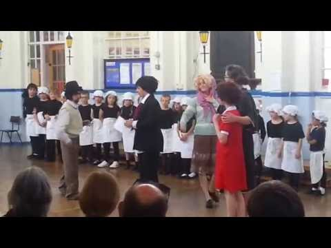 Emma WaltersSmith in Annie the Musical 2016  Part 3