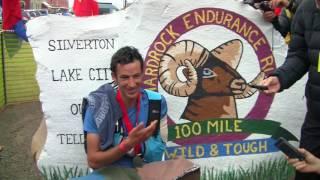 Kilian Jornet, 2017 Hardrock 100 Finish and Interview