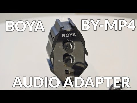 Boya BY-MP4 Audio Adapter/Mixer For Microphones