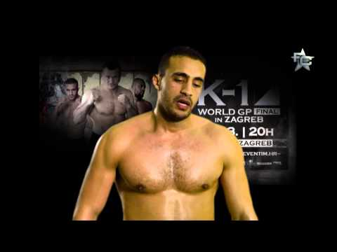 Interview with Badr Hari before K-1 World GP Final