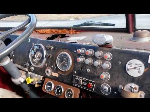 671 Detroit Diesel,1968 American LaFrance,on a Winter Drive.