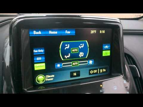 Problem with the heater on my 2014 Chevrolet Volt