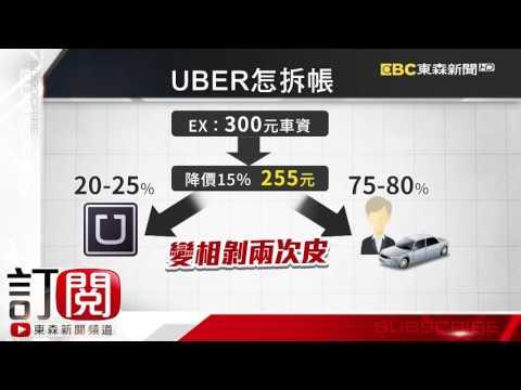 不滿Uber片面降價 司機串聯520晚間罷駛