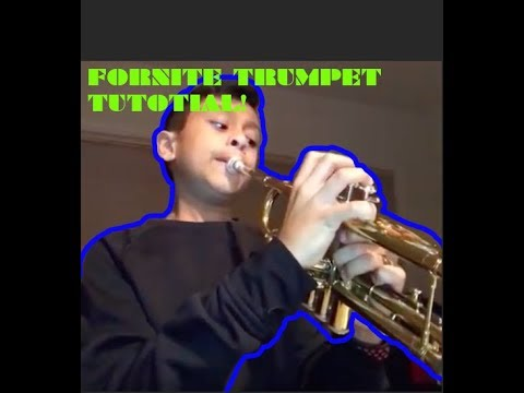 Fortnite Default Dance Trumpet Tutorial Youtube