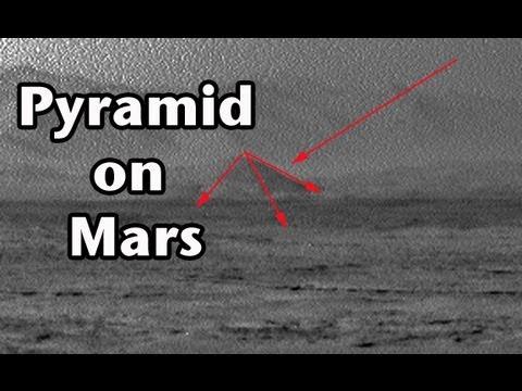 Pyramid Found in Mars Curiosity Photo