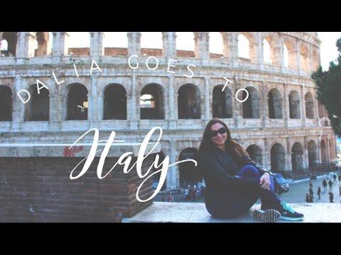 Dalia Goes To Rome, Italy